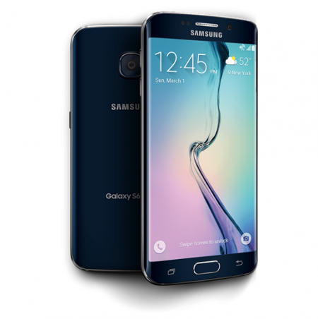 Samsung Galaxy S6 32GB Edge 4G LTE Black Sapphire
