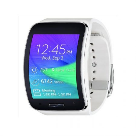 Samsung Gear S Smartwatch Pure White