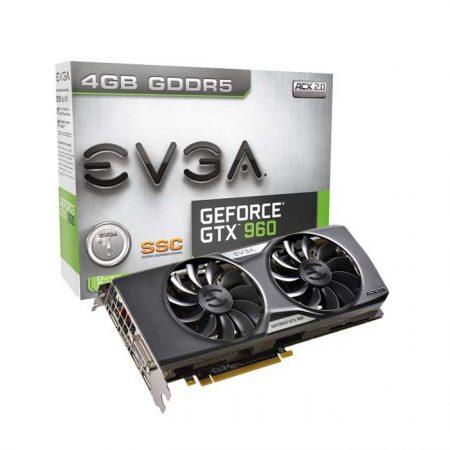 EVGA VGA CARD GTX 960 DDR5 4 GB