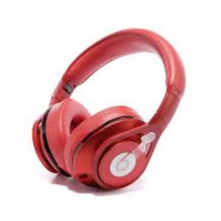Beats Executive Over-Ear Headphone white - Red