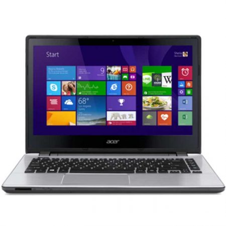 ACER V3-472PG.001-TOUCH SILVER CORE i5 4210 U 1.7GHz, 4GB, 1TB, DVD±RW, 14.0 TOUCH,WL, 2GB GF, BT+CAM, WINDOWS 8.1