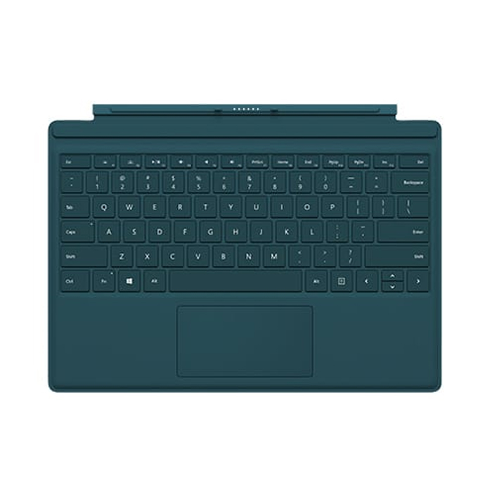 Buy microsoft surface pro 4 type cover teal online in dubai uae