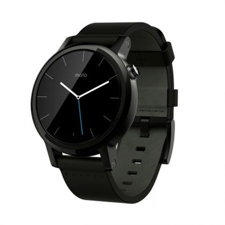 Motorola Moto 360 (2nd Gen) 42mm Black