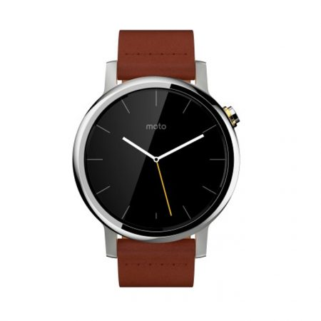 Motorola Moto 360 2nd Gen (42 mm) for Men brown leather