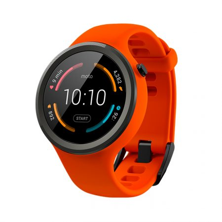 Moto 360 Sport Flame Orange