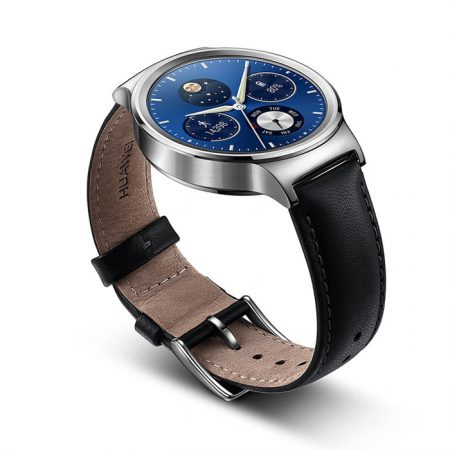 Huawei Watch with Leather Band Black