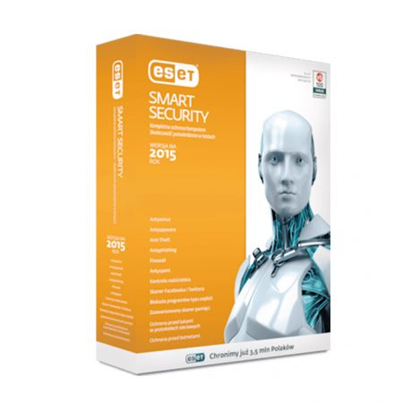 ESET SMART SECURITY V8 with Mobile Security