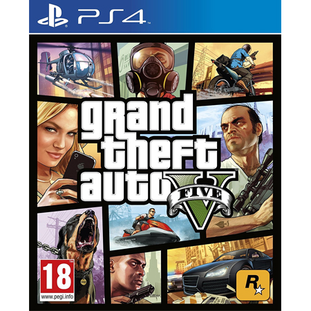 Grand Theft Auto V for PlayStation 4 (CD)