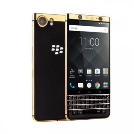 BlackBerry Keyone gold edition