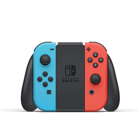 Nintendo Switch with Joy‑Con (Neon Blue and Neon Red)