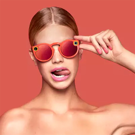 Snapchat Spectacles Glasses - Orange