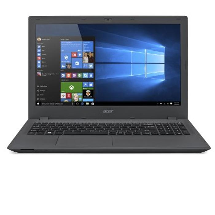 "ACER E5-574 INTEL CORE i5 6200U-6TH GENERATION-4GB RAM-500GB HDD-DVDRW-15.6""-WINDOWS10- BLACK, ENGLISH/ARABIC KB"