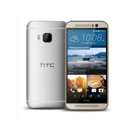 HTC One M9 32GB 4G LTE Gold on Silver Arabic box