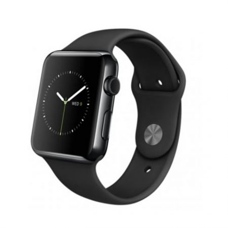 Apple Watch (MLC82) 42mm Space Black Stainless Steel Case with Black Sport Band