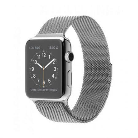 Apple Watch (MJ3Y2) 42mm Stainless Steel Case with Milanese Loop