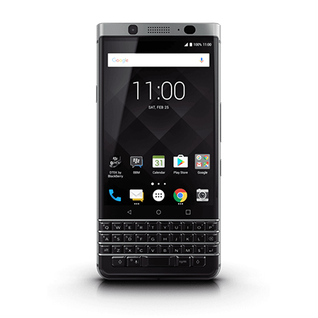 BlackBerry Keyone (64GB, 4GB RAM, 4G LTE) Black/Silver