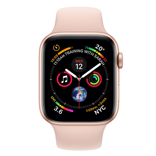 Apple Watch Series 4 GPS (40mm) MU682 Gold Aluminum Case with Pink Sand Sport Band