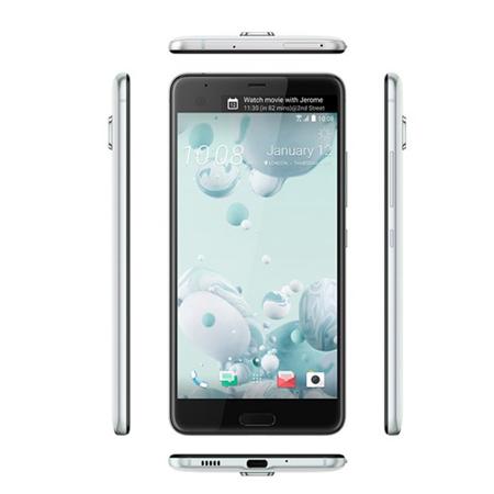 HTC U Ultra 64GB, 4GB RAM, Single Sim, 4G LTE Ice White