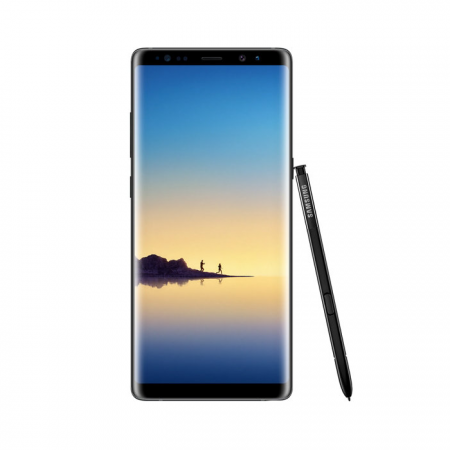 Samsung Galaxy Note 8 (128 GB, 6GB RAM, 4G LTE, Dual SIM) Midnight Black