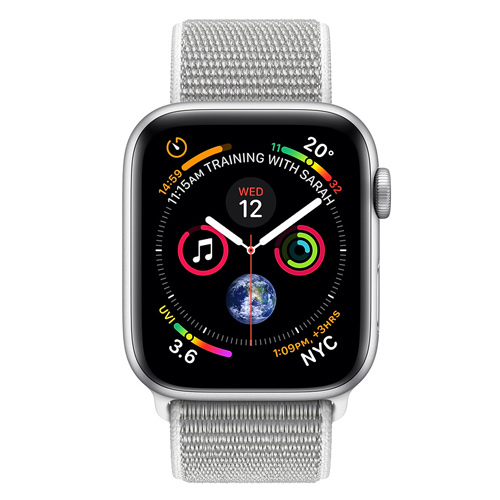 Apple Watch Series 4 GPS (40mm) MU652 Silver Aluminum Case with Seashell Sport Loop