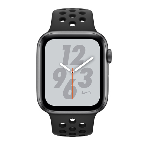 Apple Watch Nike+ Series 4 GPS (44mm) MU6L2 Space Gray Aluminum Case with Anthracite/Black Nike Sport Band