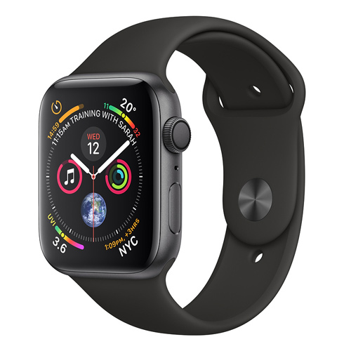Apple Watch Series 4 GPS (40mm) MU662 Space Gray Aluminum Case with Black Sport Band