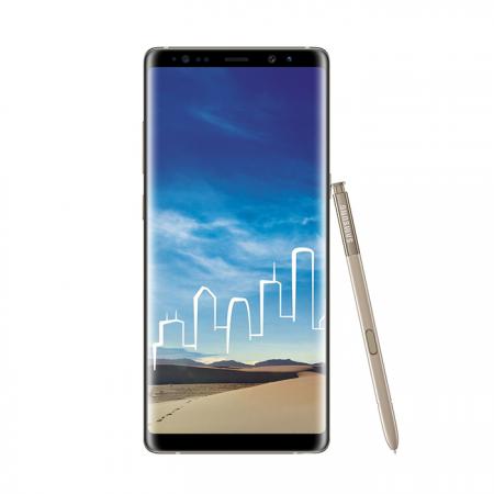 Samsung Galaxy Note 8 (64 GB, 6GB RAM, 4G LTE, Dual SIM) Maple Gold