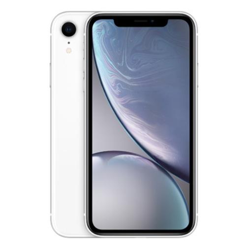 Apple iPhone XR Dual Sim 256GB, 4G LTE - White (Facetime)