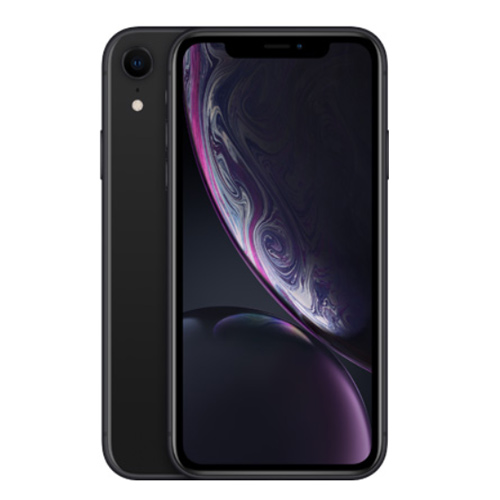 Apple iPhone XR Dual Sim 128GB, 4G LTE - Black (Facetime)