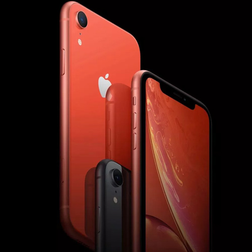 Apple iPhone XR Dual Sim 256GB, 4G LTE - Yellow (Facetime)