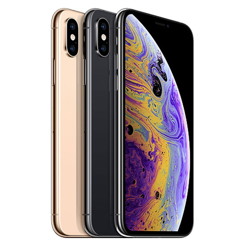 Apple iPhone XS Dual Sim, 512GB, 4G LTE - Space Grey (FaceTime)