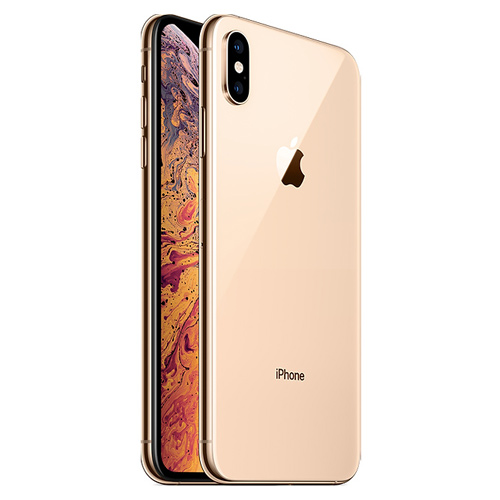 Apple iPhone XS Dual Sim, 256GB, 4G LTE - Gold (FaceTime)