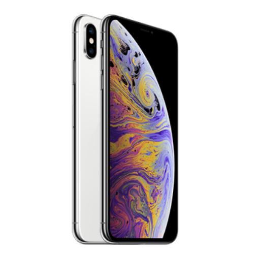 Apple iPhone XS Dual Sim, 64GB, 4G LTE - Silver (FaceTime)