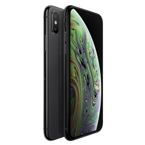 Apple iPhone XS Dual Sim, 64GB, 4G LTE - Space Grey (FaceTime)