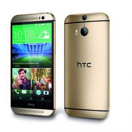 HTC One M8 Eye 5 Inch, 16GB, Amber Gold