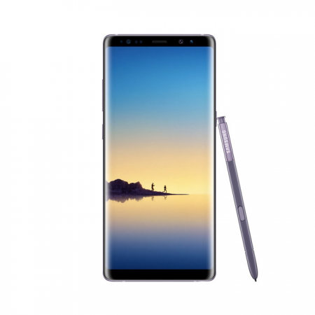 Samsung Galaxy Note 8 (128 GB, 6GB RAM, 4G LTE, Dual SIM) Orchid Grey - International Version