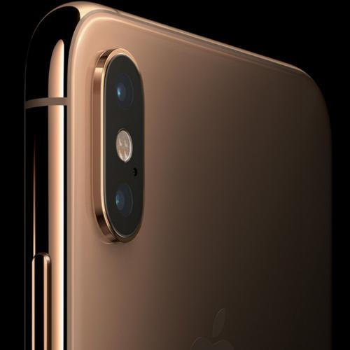 Apple iPhone XS Dual Sim, 512GB, 4G LTE - Silver (FaceTime)