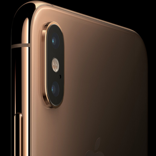 Apple iPhone XS Dual Sim, 512GB, 4G LTE - Gold (FaceTime)